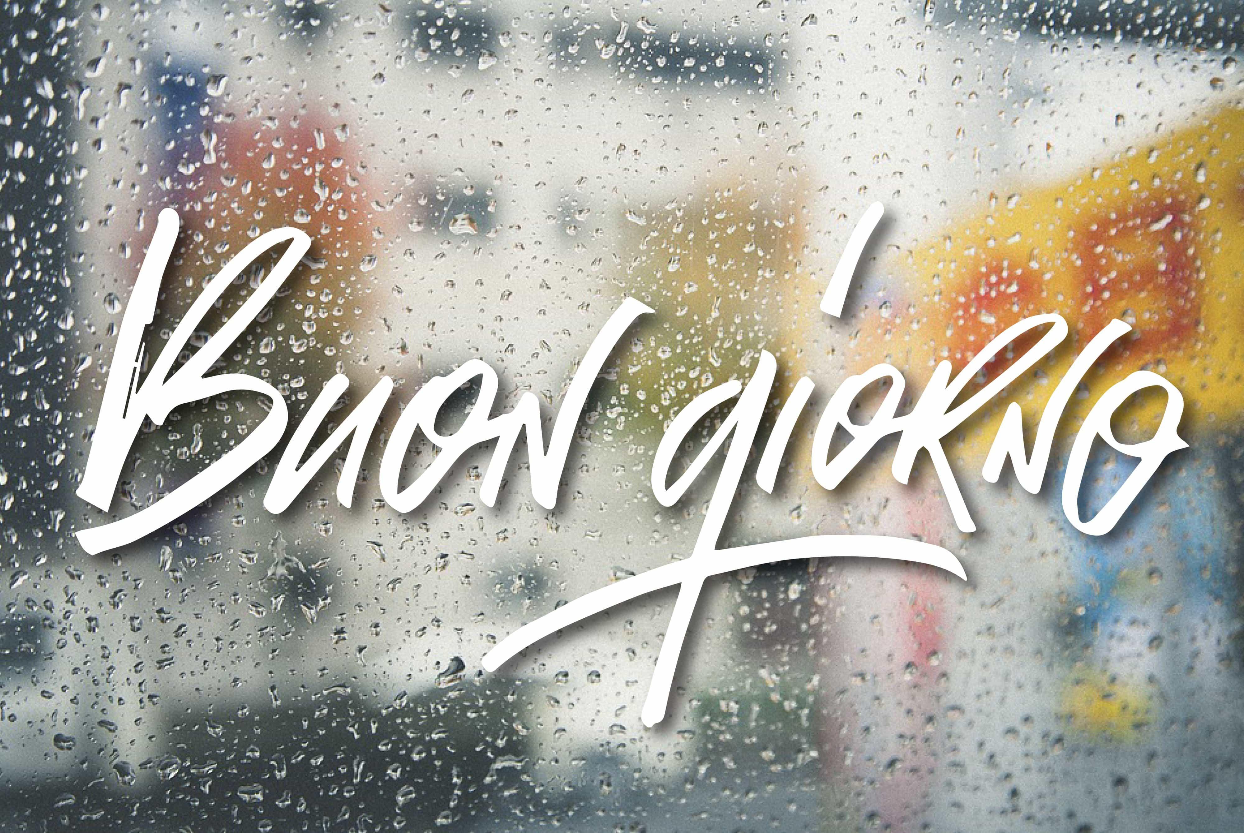 Buona giornata anche se piove! Buongiorno di pioggia frasi.