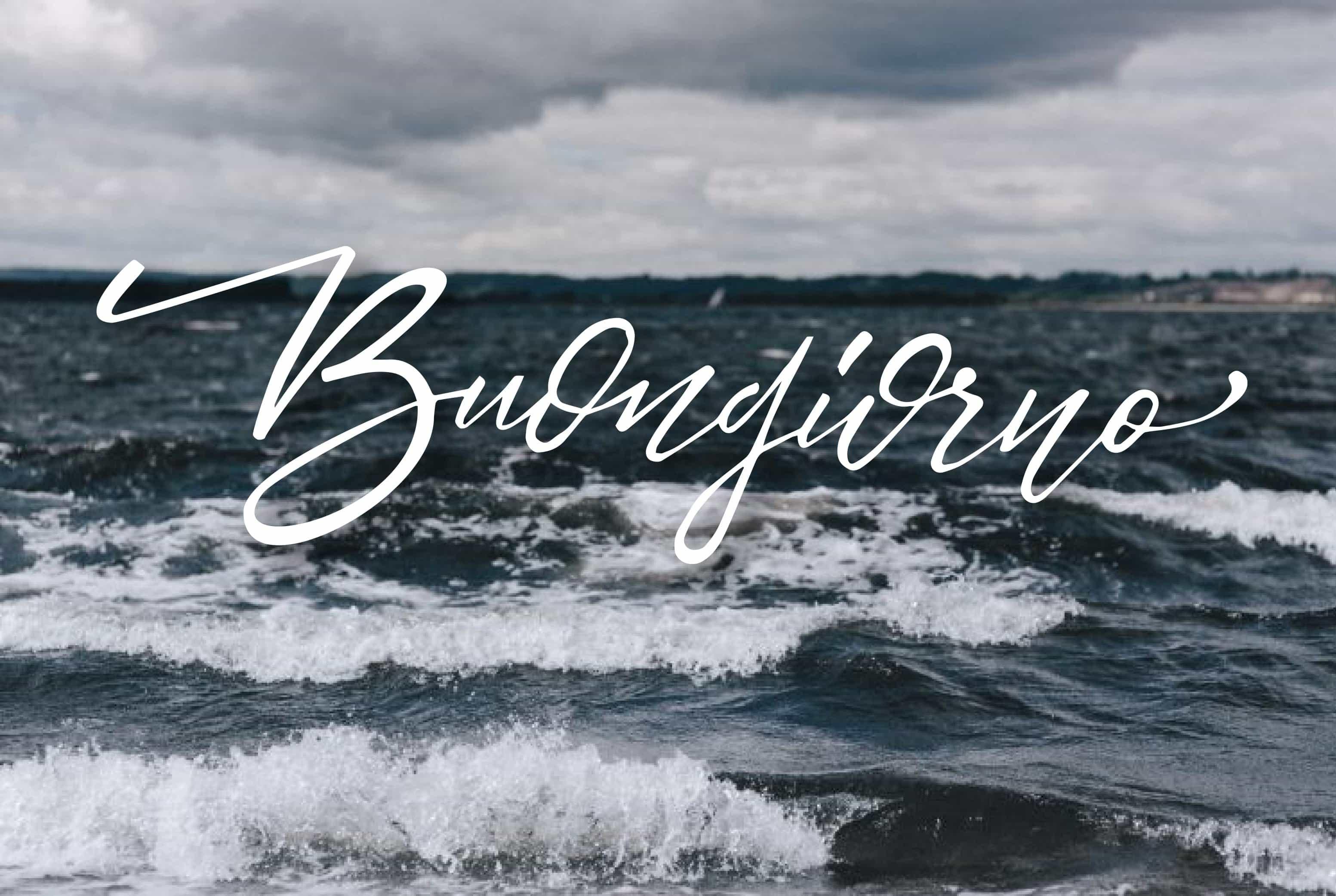 Immagini buongiorno gratis con il mare