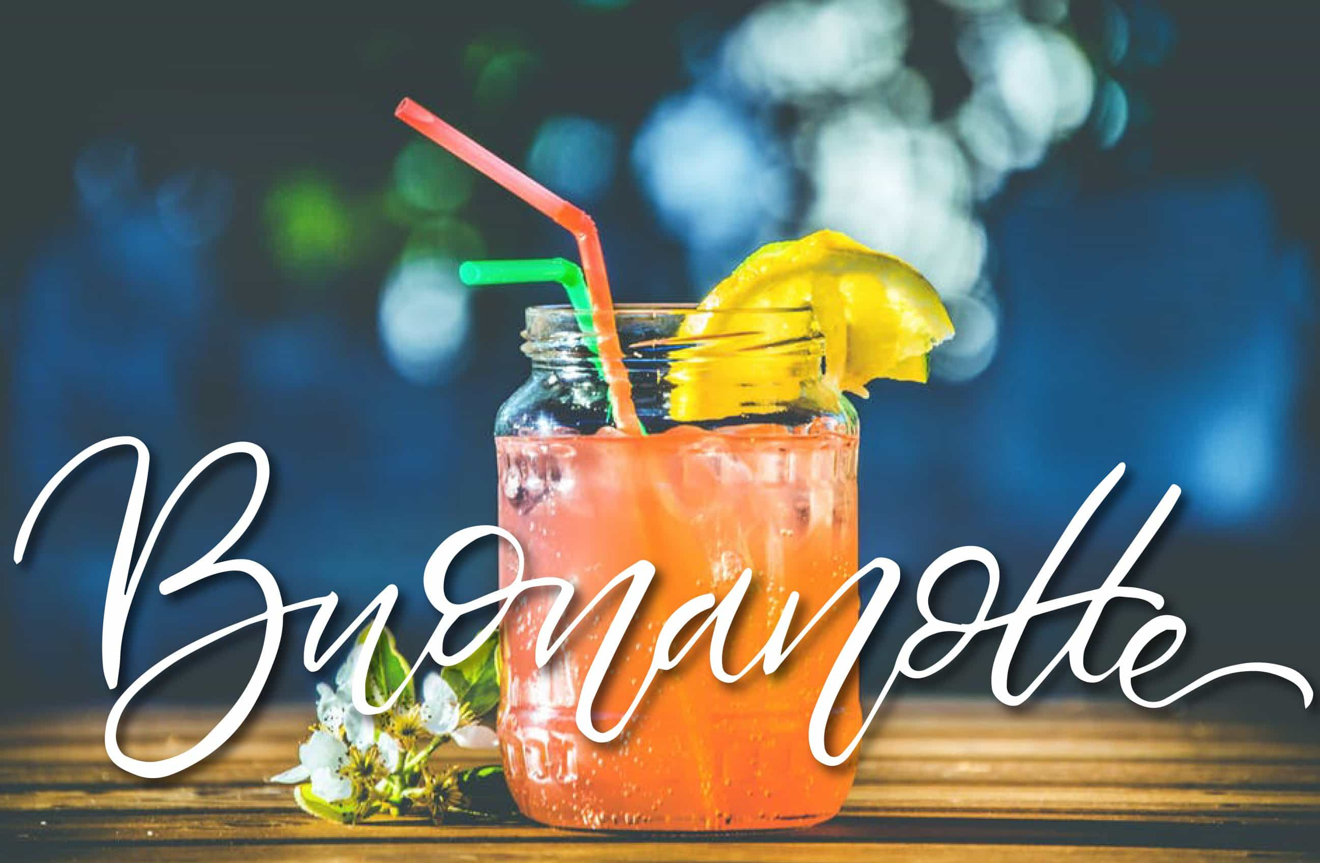 Buonanotte con il cocktail - foto per Facebook