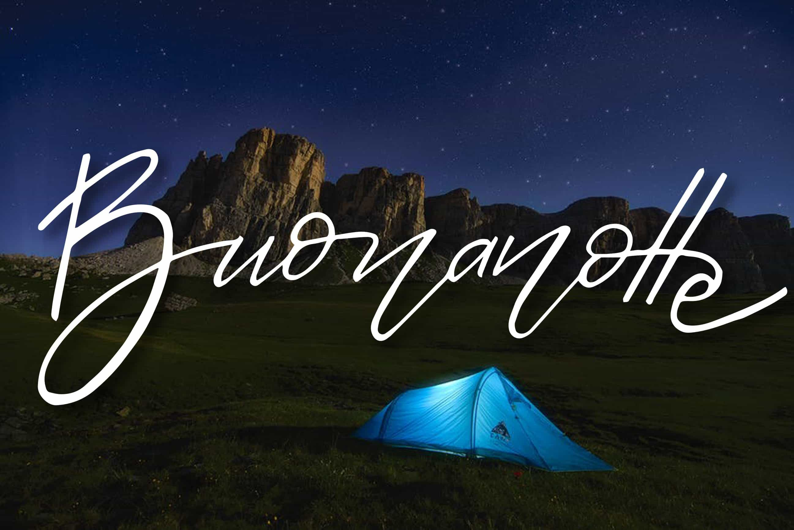 buon natale e buona notte in natale