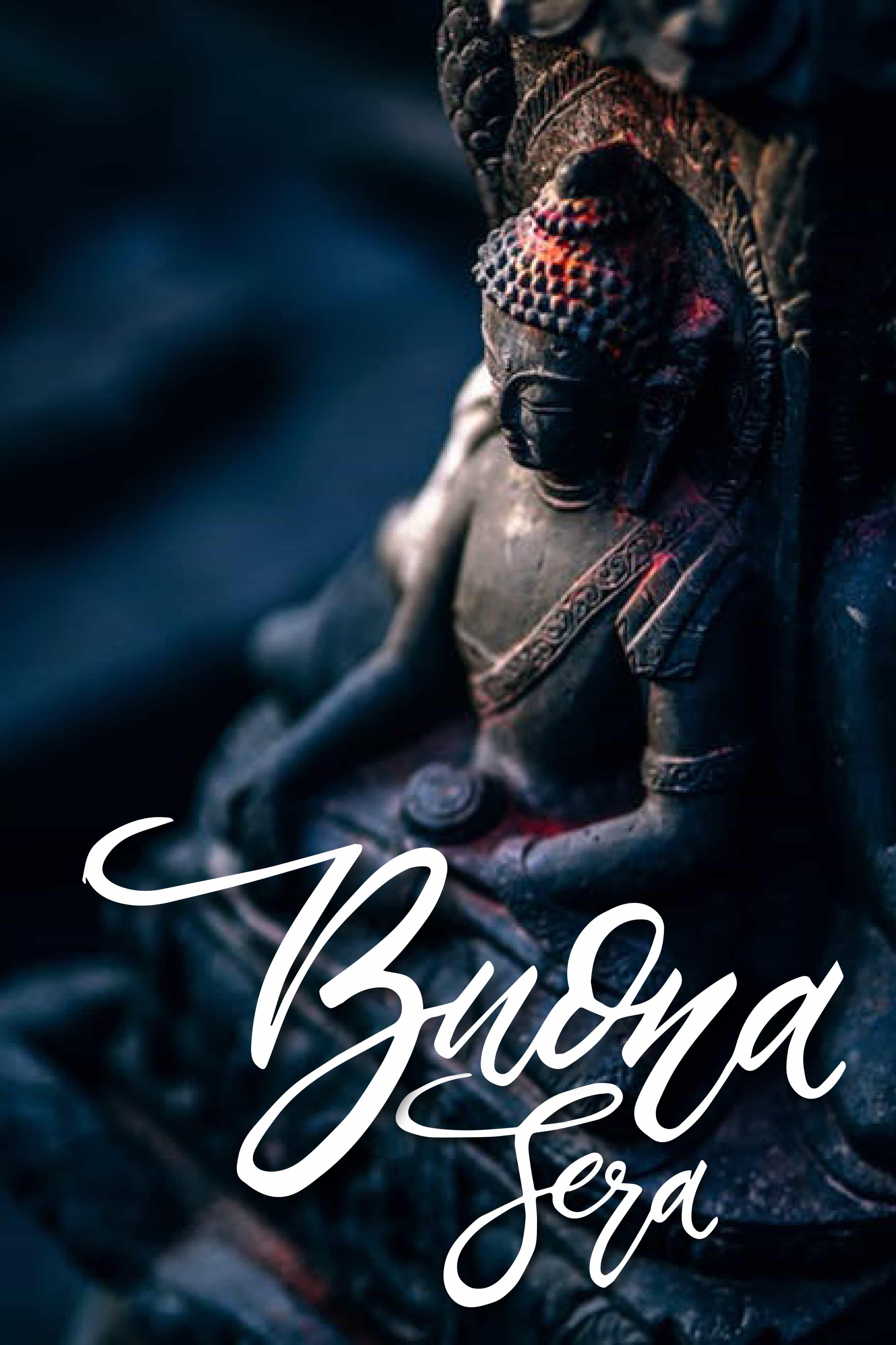 Buona serata con Buddha foto