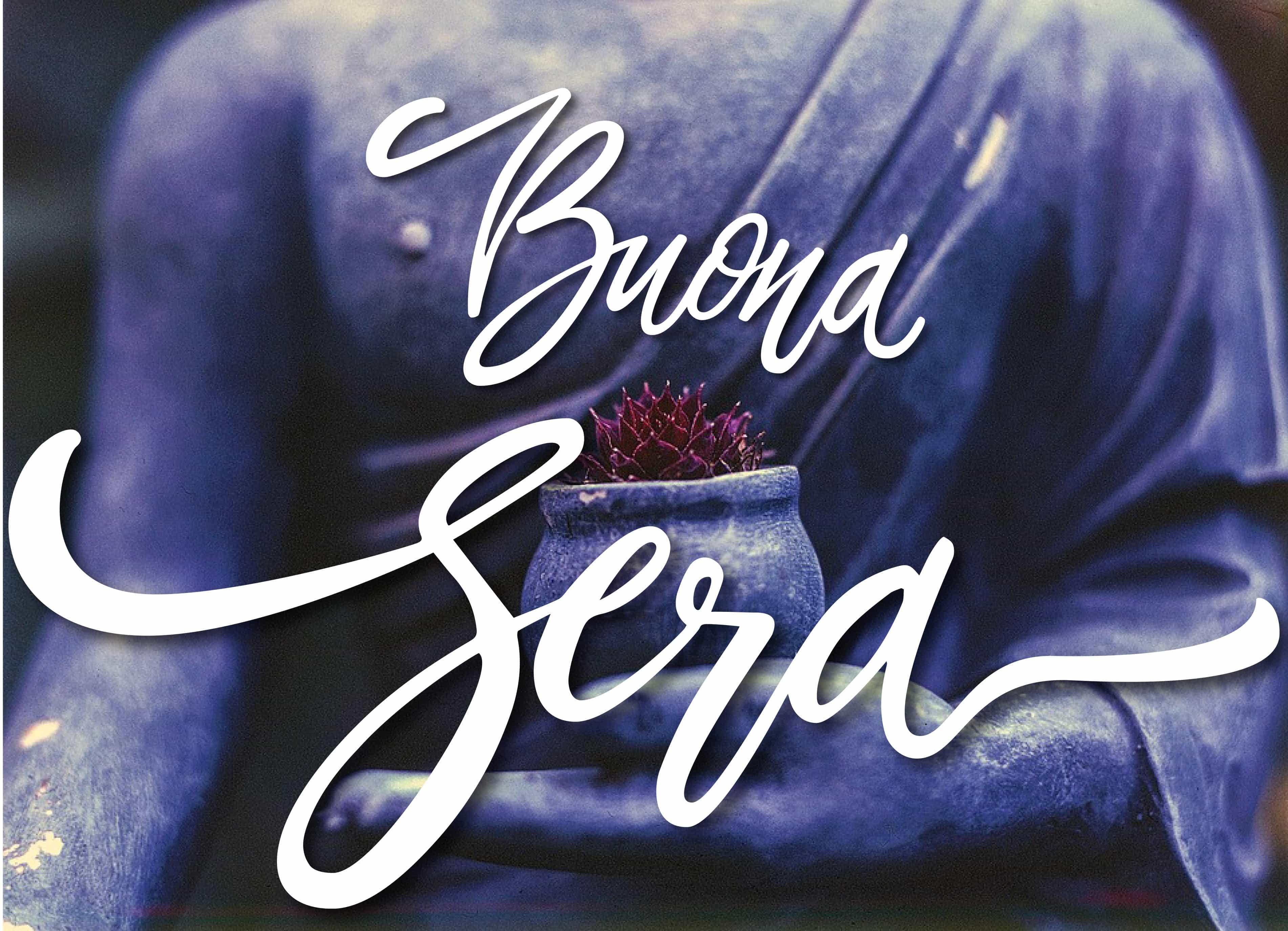Buona sera a tutti con Buddha