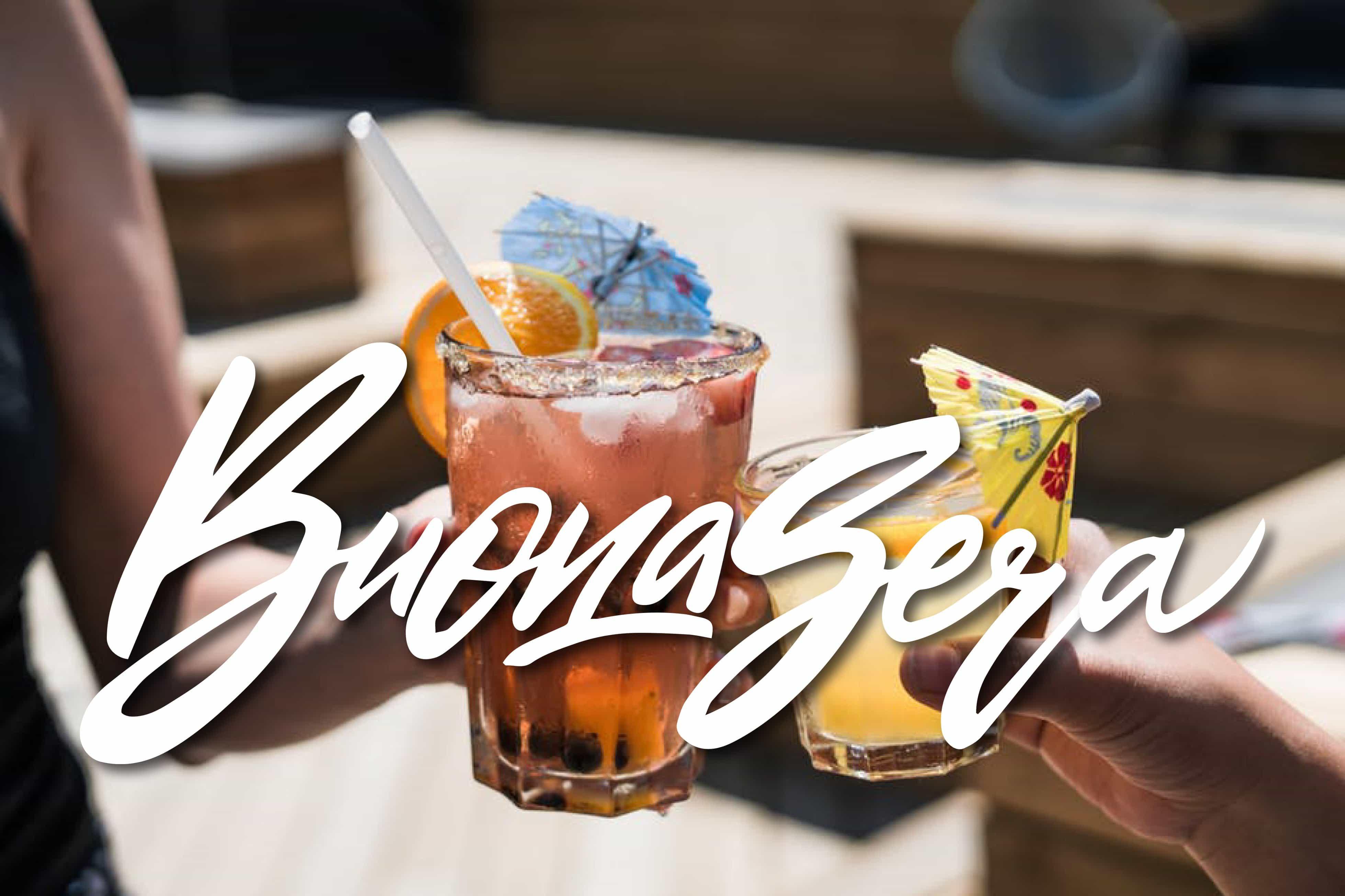 Buona sera a tutti con il cocktail