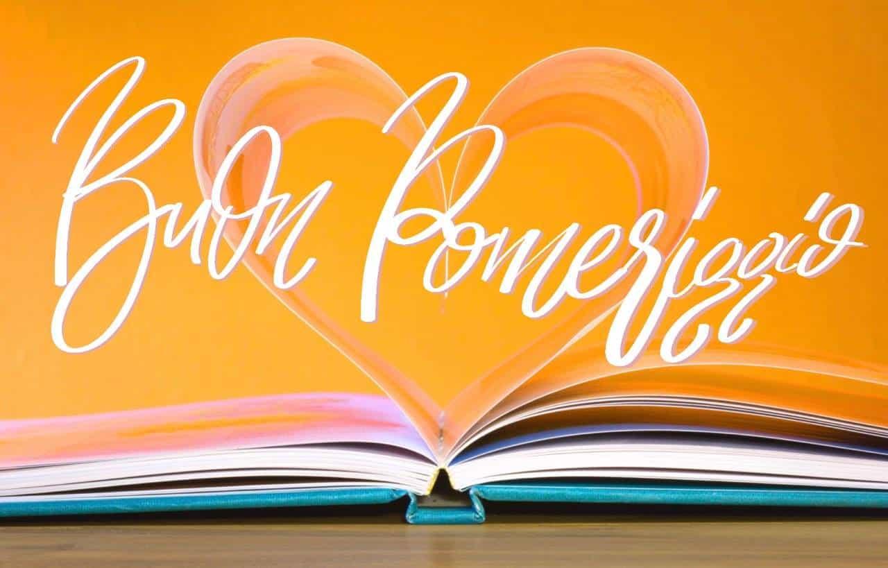 Buon pomeriggio immagine gratis con il libro