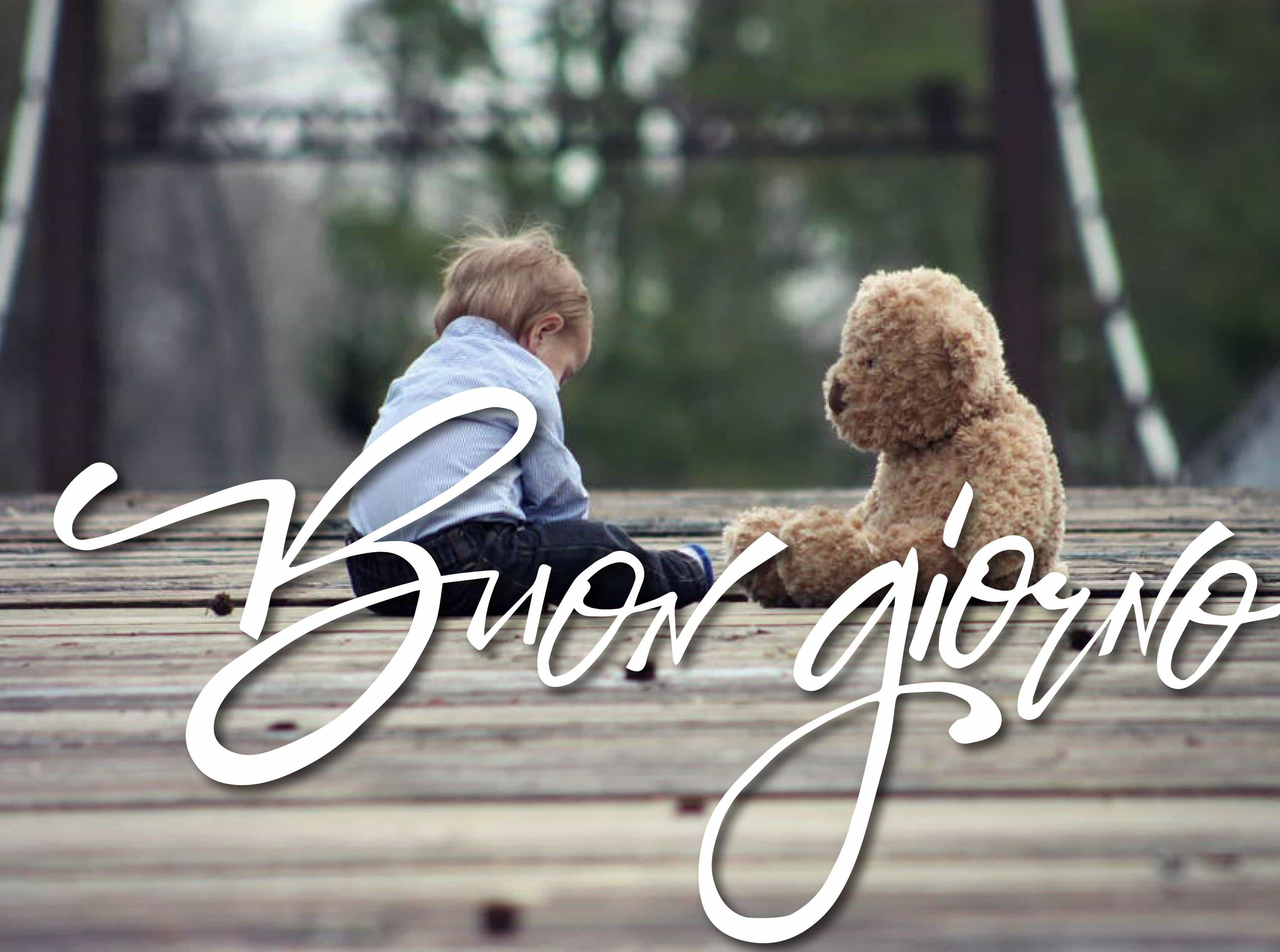 Le Immagini Del Buongiorno Con I Bambini Foto Della Buona