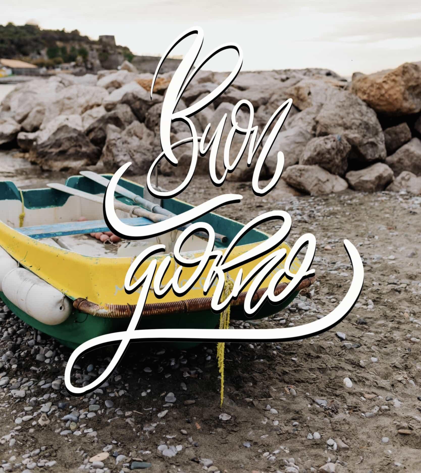 Immagini buona passegiata sul mare buongiorno