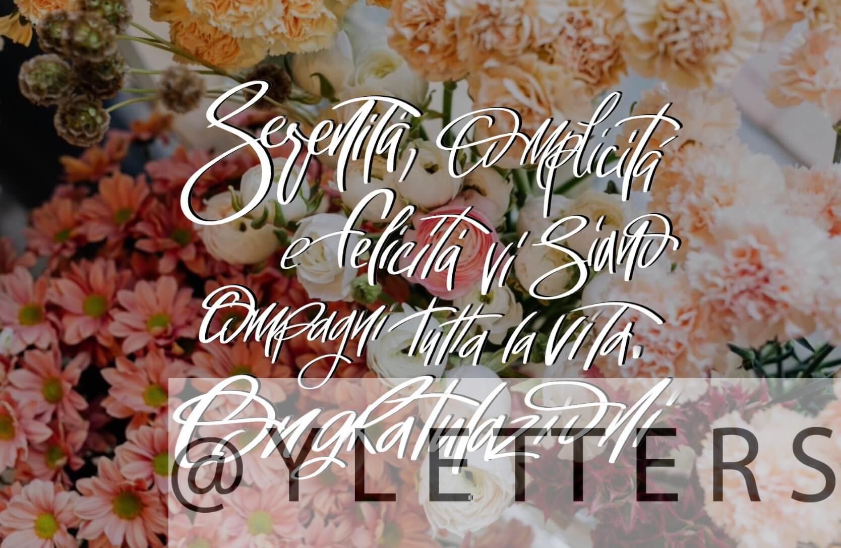 frasi e immagini buon anniversario di matrimonio con i fiori